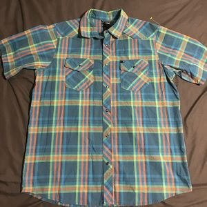 The North Face Button Down Shirt Men's L